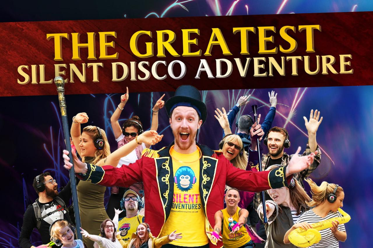 """""""The Greatest Silent Disco Adventure"""" in Manchester"""