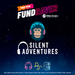 A FAMILY Silent Disco Adventure with Tay FM and Cash For Kids