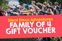 Silent Adventure Gift Voucher (Family 4)