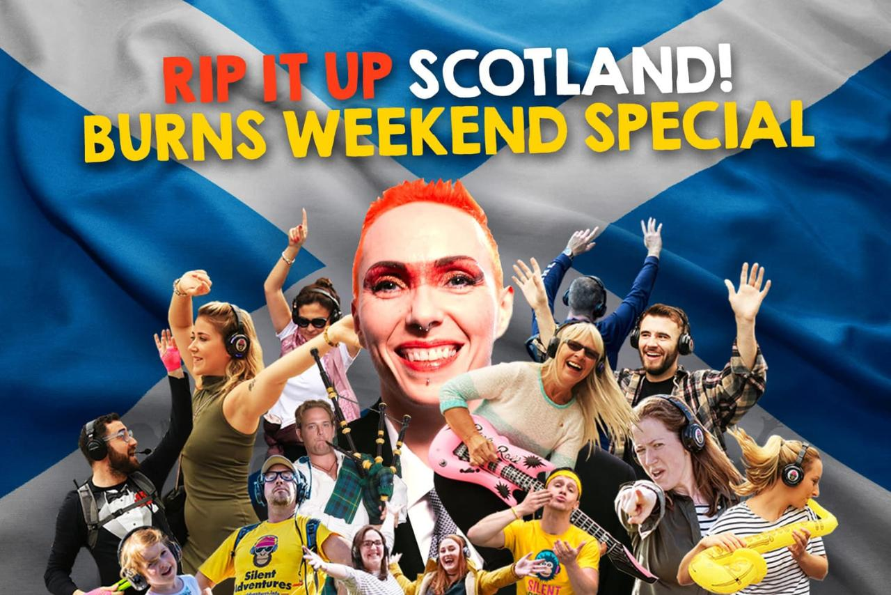 """Rip it up Scotland"" Silent Disco Adventure"