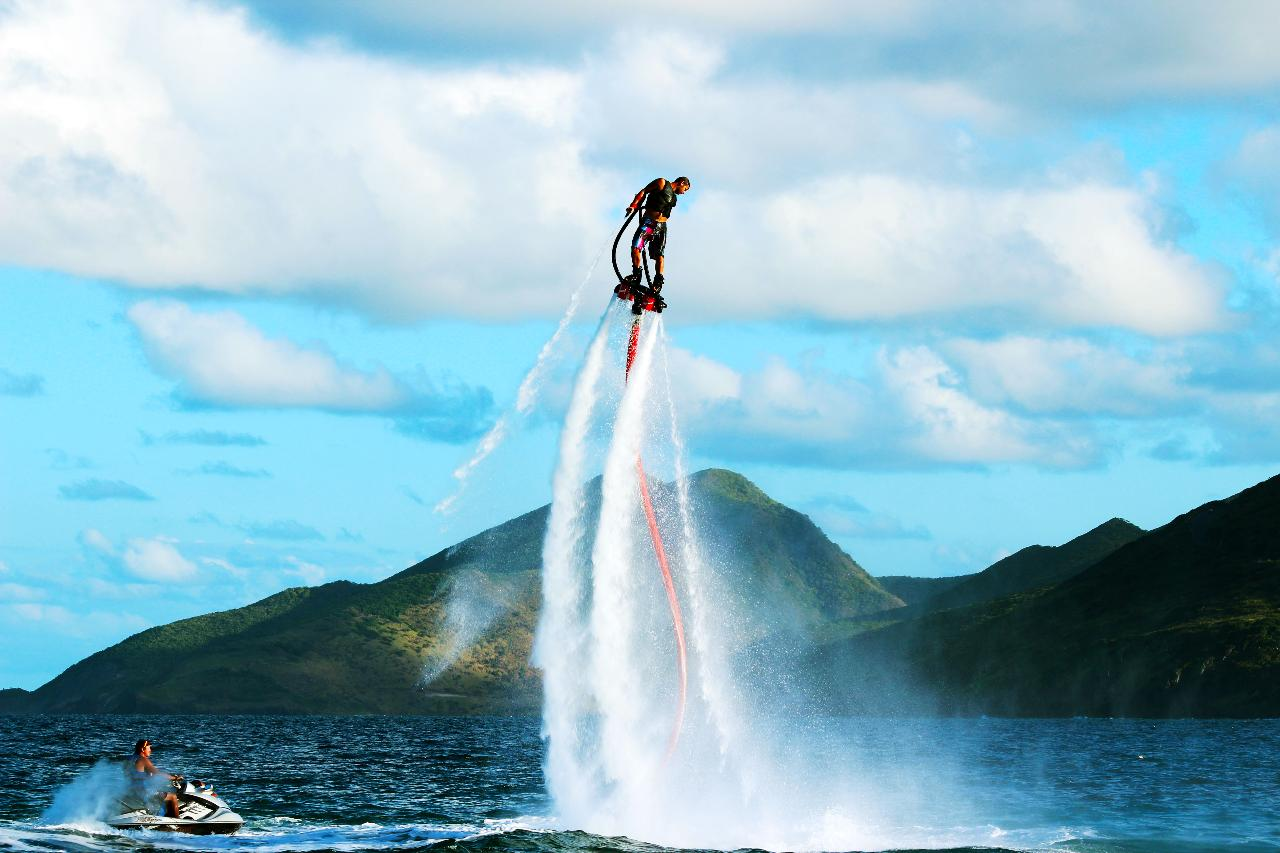 Flyboarding and Hoverboarding