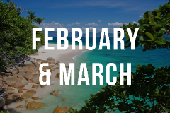 February & March Day Trip - 8am to 12:15pm