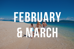 February & March Day Trip - 11am to 5pm