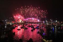 Experience - Fireworks Scheduled Cruise 90 minutes New Years Eve for 1 or more persons