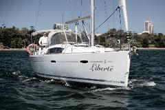 Skippered Beneteau Oceanis 40 for 13 passengers