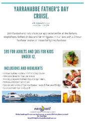 Yarranabbe Fathers Day Cruise 2020