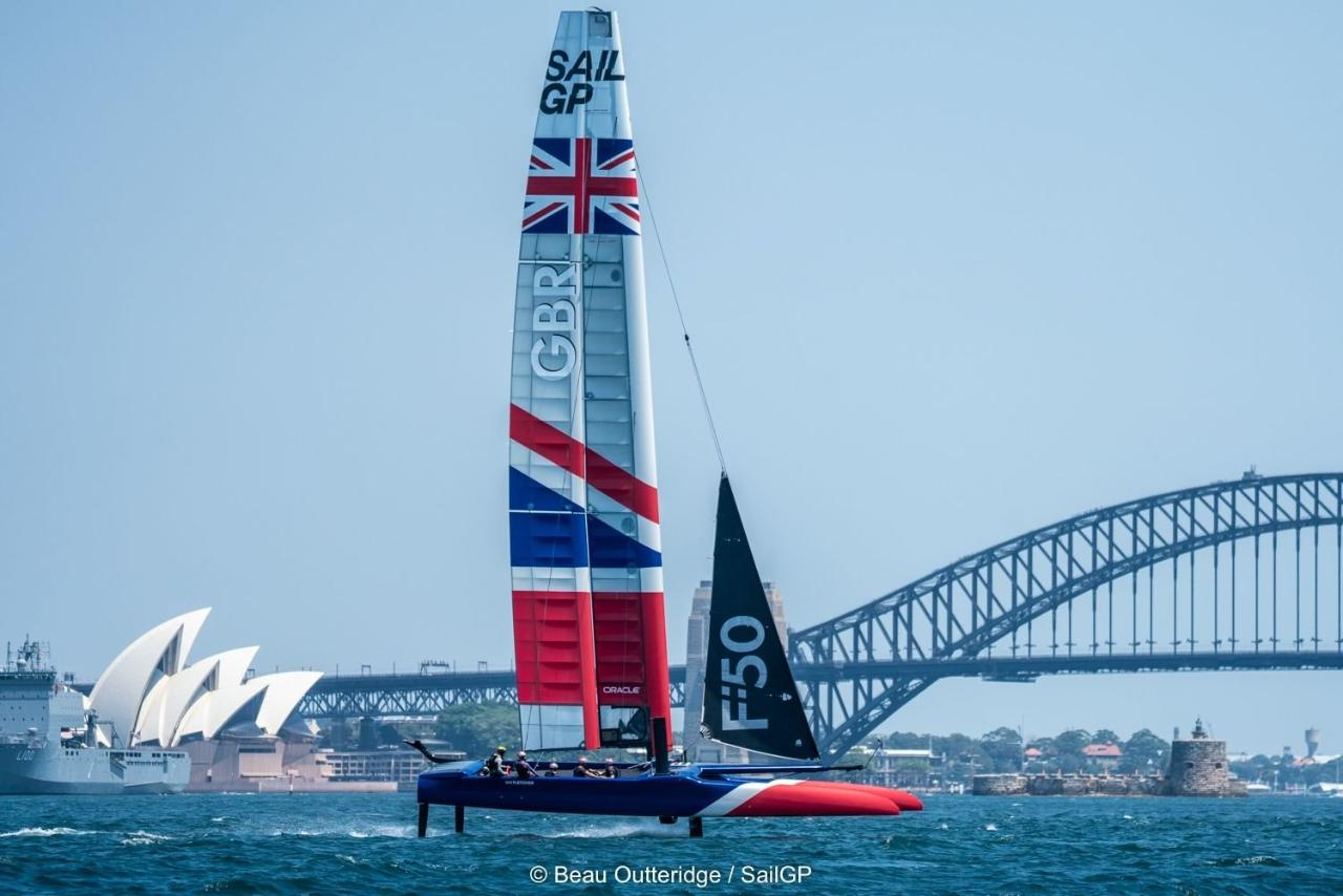 Experience - Sail GP on Sydney Harbour for 4 hours - one or more persons