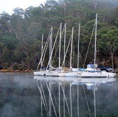 RYA Three Day / Night New Year Raft Up Cruise Suits Beginners
