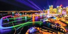 Experience - Vivid 2020 Evening Cruise with dinner and drinks