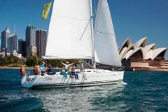 Skippered Beneteau First 40 for up to 17 passengers