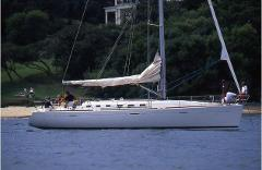 Skippered Beneteau 47.7 with crew for up to 20 passengers