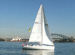 Bareboat Sydney 36 for up to 12 persons