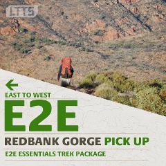 E2E ESSENTIALS Trek Package - Redbank Gorge Pick Up