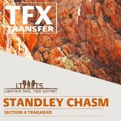 AFTERNOON PICK UP: Larapinta Trail Transfer from Standley Chasm