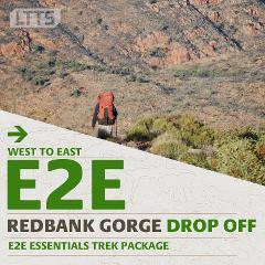 E2E ESSENTIALS Trek Package - Redbank Gorge Drop Off