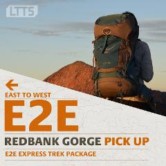 E2E EXPRESS Trek Package- Redbank Gorge Pick Up