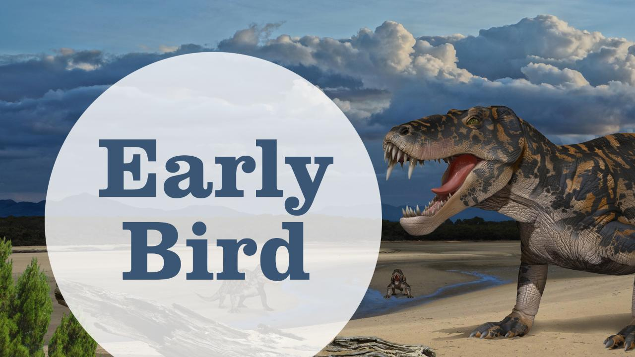 Early Bird - Life Before Dinosaurs: Permian Monsters Ticket