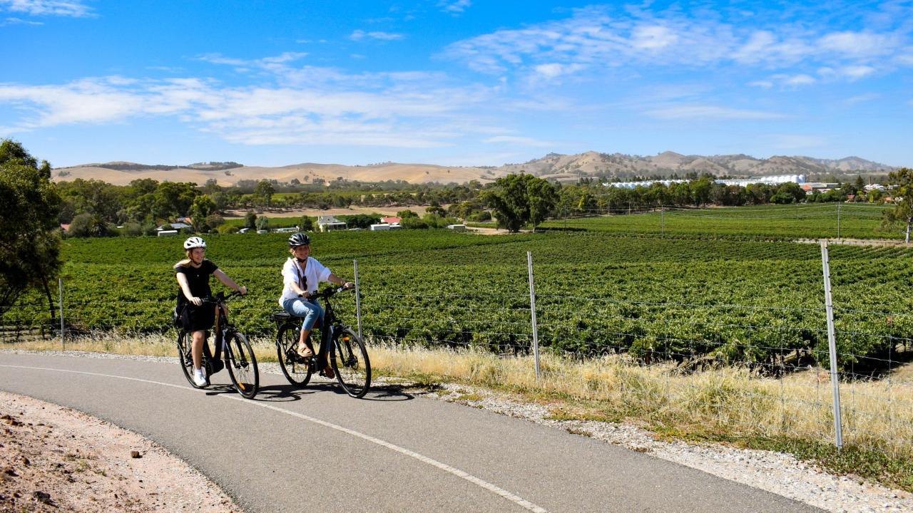E-Bike Hire | Barossa Valley