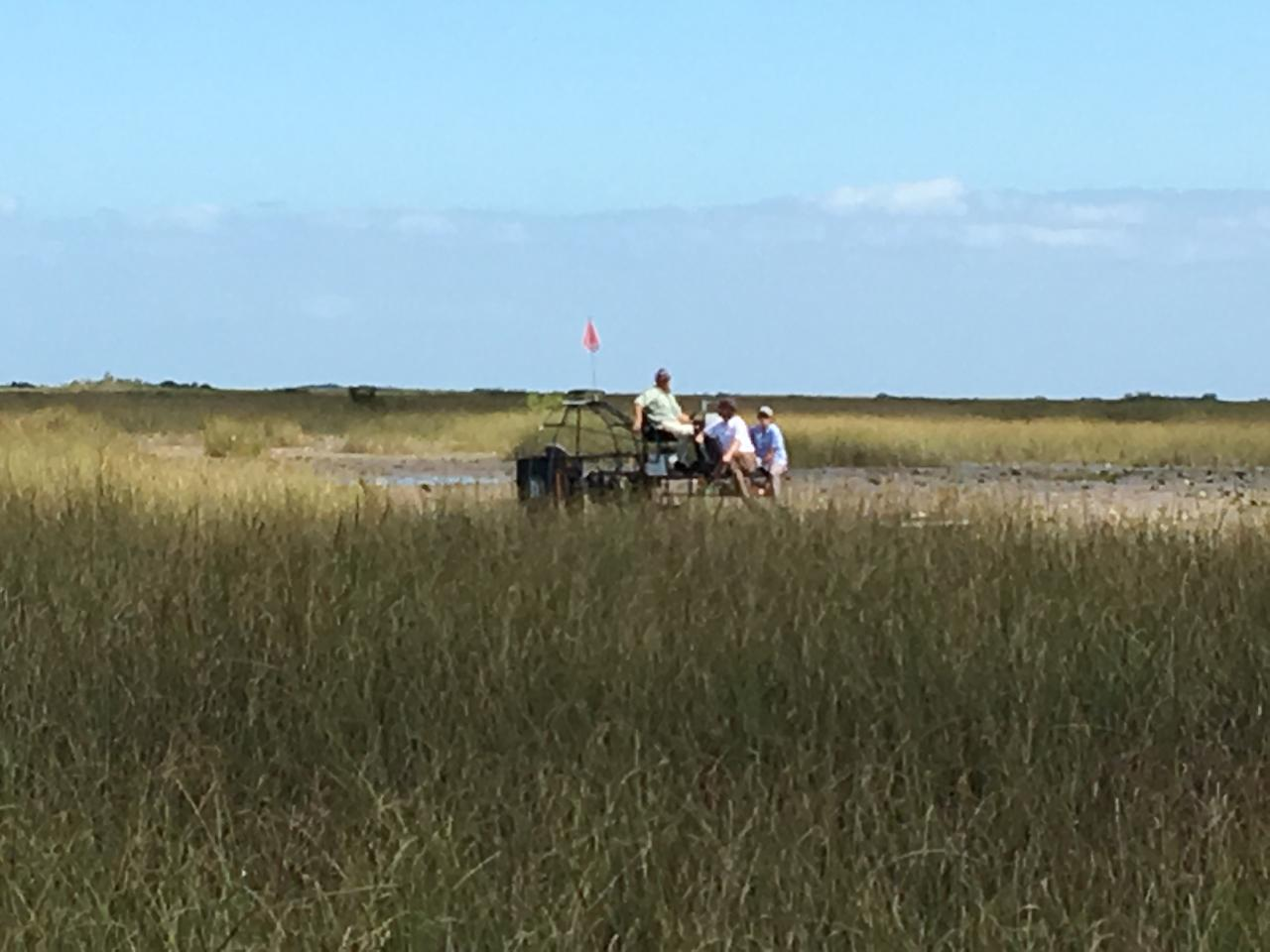 One hour private airboat tour