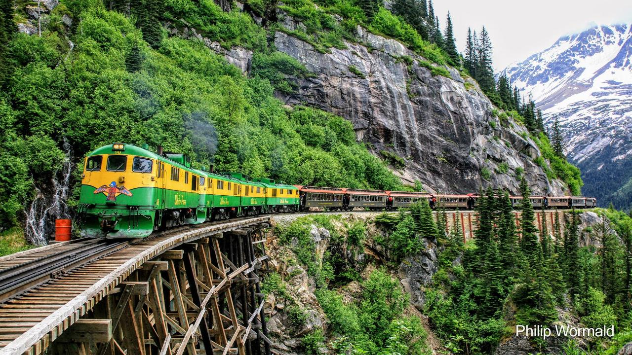 Klondike Highway & White Pass Train Combo 3.5 HOUR