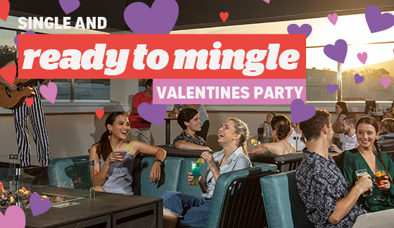 Single and Ready to Mingle Valentine's Party