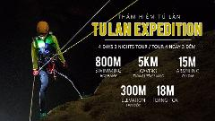 Tu Lan Cave Expedition 4 Days