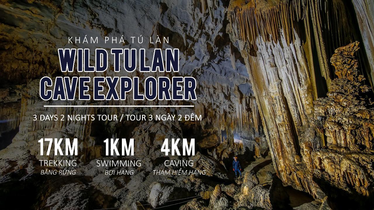 Wild Tu Lan Cave Explorer 3 Days