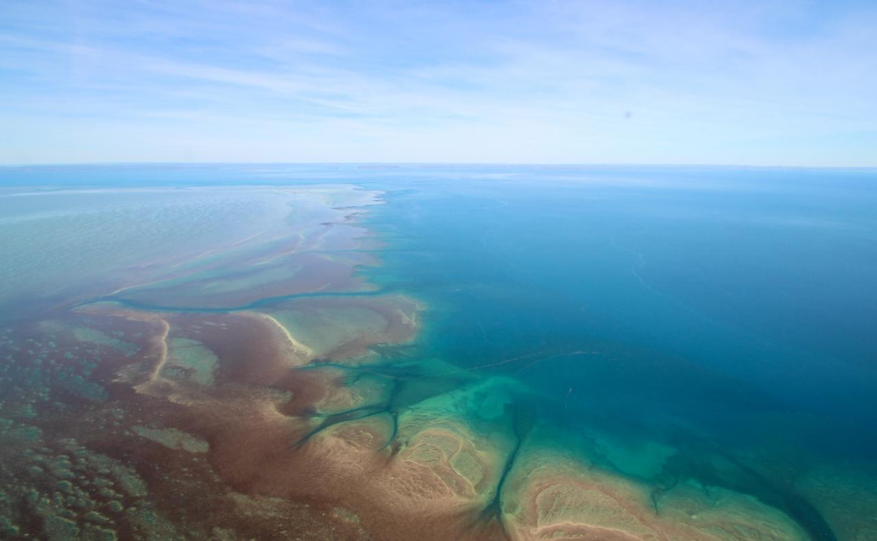 Montgomery Reef Discoverer and Horizontal Falls Highlights ex Broome