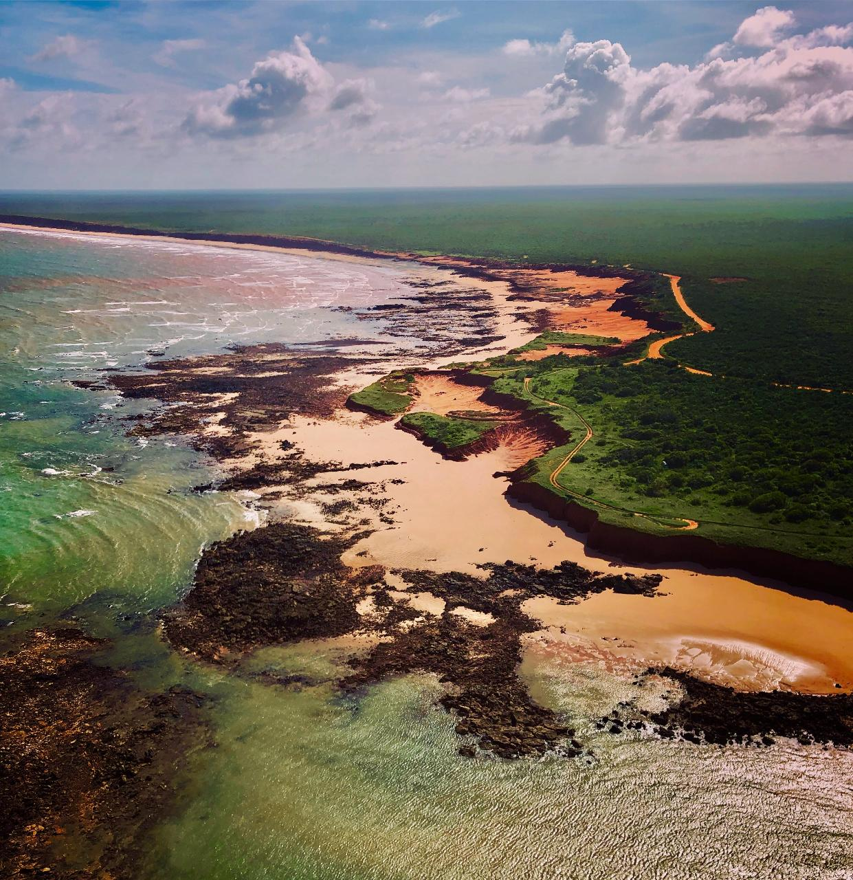 60 minute Broome Cliffs and Coast Scenic Helicopter Flight