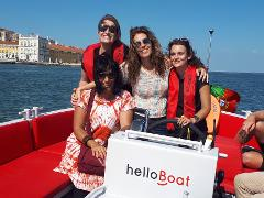 helloBoat happy sunset cruise
