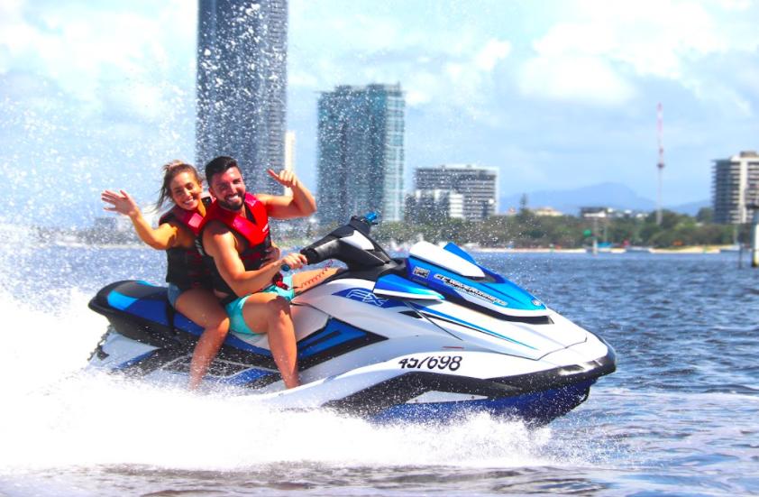 Gold Coast Watersports 1.5hr Jetski Tour