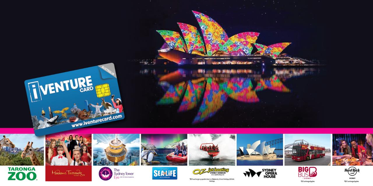 Vivid Cruise + 4 Attractions Combo
