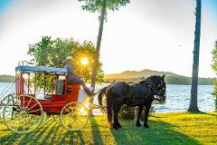 Group Sunset Stagecoach Ride & Taste of Germany Dinner