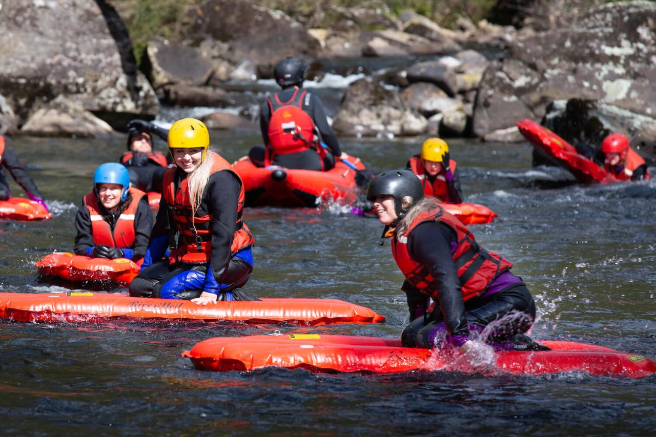 Meander River Sledding Experience