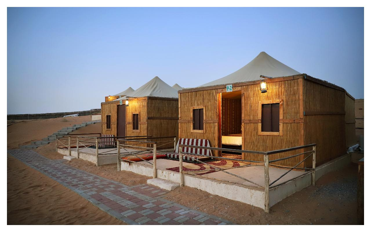 Gulf Tours - Overnight Camping - Premium Tent