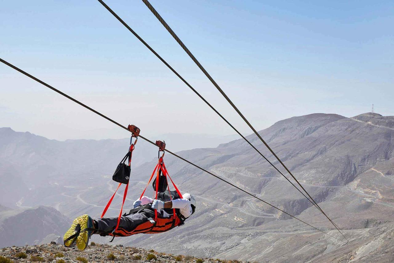 Premium Camping - Jebel Jais Flight
