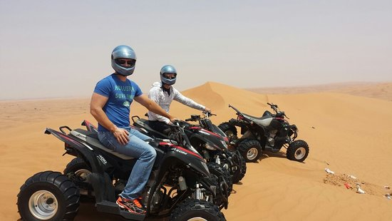 Gulf Tours - Guided Quad Bike Tour