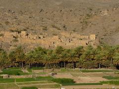 Misfat Al Abriyeen und Berg Dschabal Schams