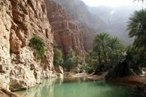 Vom Schiff - Tagesausflug Maskat ,Wadi Shab und Wadi Tiwi