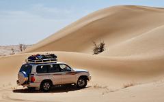 Übernachtung in der Rub Al Khali Wüste