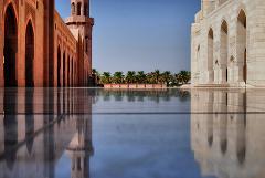 Transfer zur Großen Sultan-Qabus-Moschee