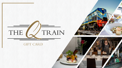$458 Gift Card - Perfect for 2 x First Class Sail, Rail, Dine