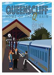 Poster or Magnet - Queenscliff Station