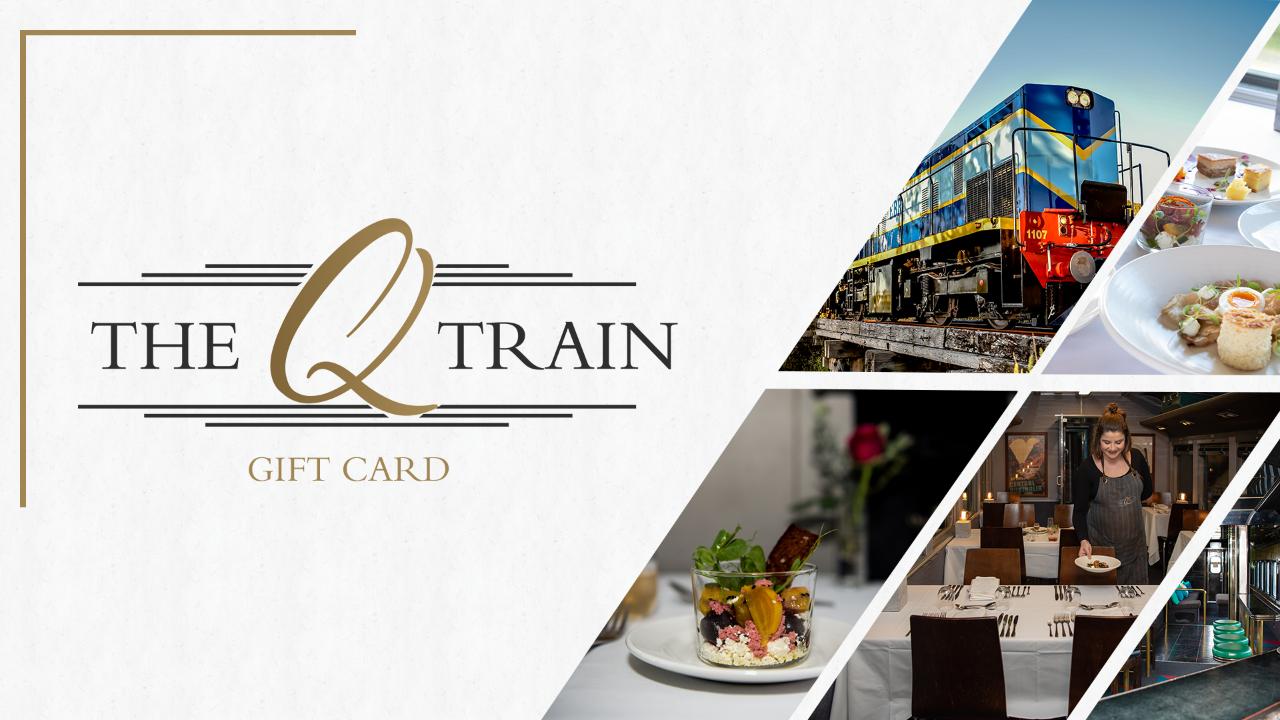 $179 Gift Card - Perfect for 1 x Q Class Sail, Rail, Dine