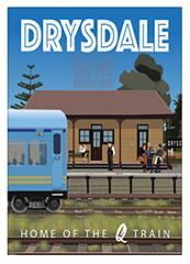 Poster or Magnet - Drysdale Station