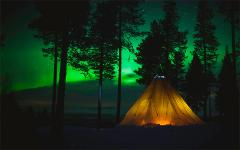 Discover the arctic light