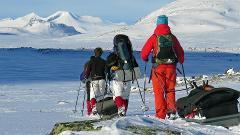 Sarek ski expedition
