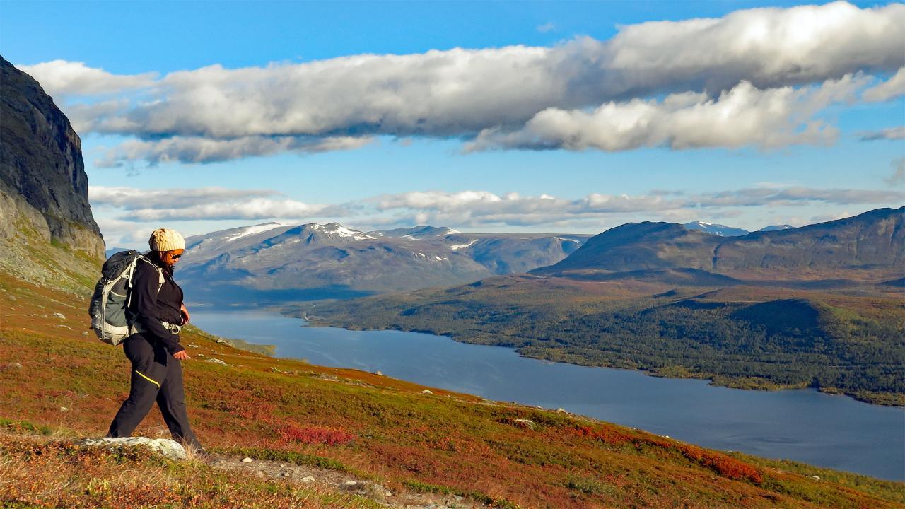 Kungsleden autumn hike