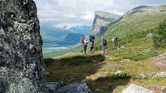 Kungsleden midnight sun hike