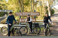 SELF GUIDED E-BIKE TOUR - PEDAL TO PRODUCE SERIES - NAROOMA TO TILBA VALLEY WINERY & ALE HOUSE VIA OLD HIGHWAY-  2 Hour E-Bike Hire with return transfers